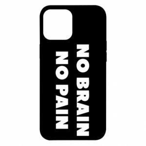 Etui na iPhone 12 Pro Max NO BRAIN NO PAIN