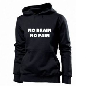 Bluza damska NO BRAIN NO PAIN