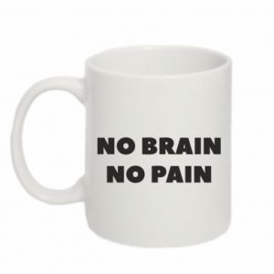 Mug 330ml NO BRAIN NO PAIN