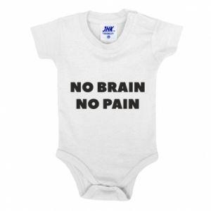 Body dziecięce NO BRAIN NO PAIN