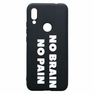 Etui na Xiaomi Redmi 7 NO BRAIN NO PAIN