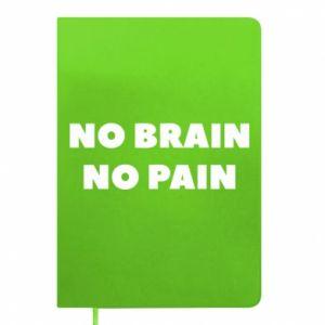 Notes NO BRAIN NO PAIN