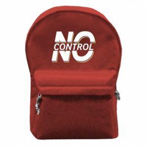 Plecak z przednią kieszenią No control