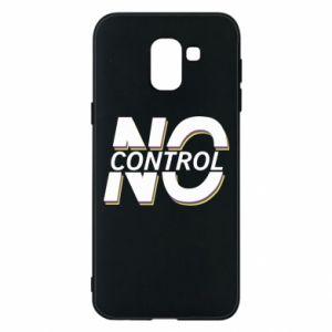 Etui na Samsung J6 No control