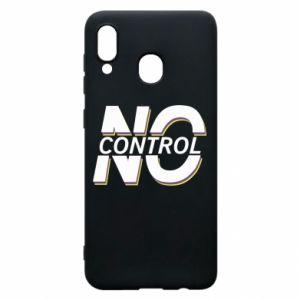 Etui na Samsung A20 No control