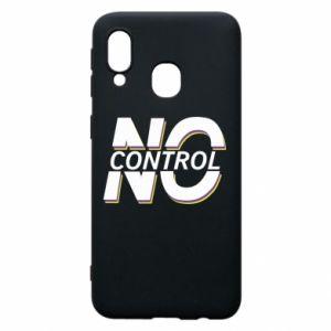 Etui na Samsung A40 No control