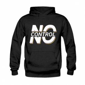 Bluza z kapturem dziecięca No control