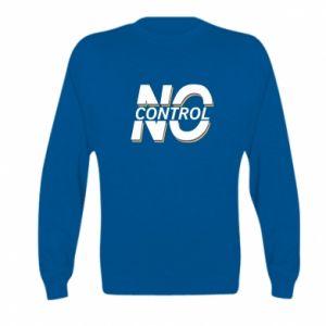 Bluza dziecięca No control