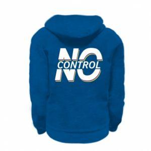 Bluza na zamek dziecięca No control