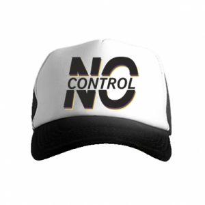 Czapka trucker dziecięca No control