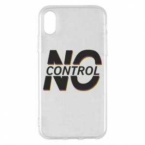 Etui na iPhone X/Xs No control