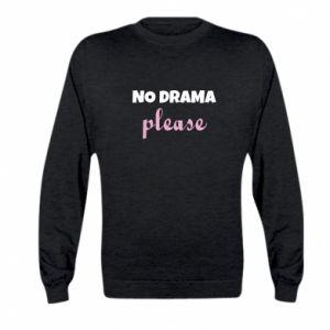 Bluza dziecięca No drama please