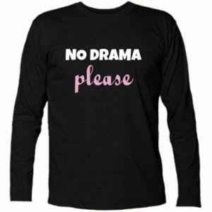 Koszulka z długim rękawem No drama please