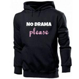 Men's hoodie No drama please