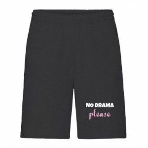 Men's shorts No drama please
