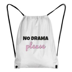 Backpack-bag No drama please