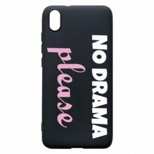 Phone case for Xiaomi Redmi 7A No drama please