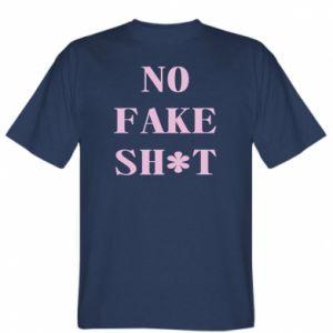 Koszulka męska No fake shit