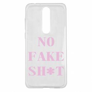 Etui na Nokia 5.1 Plus No fake shit