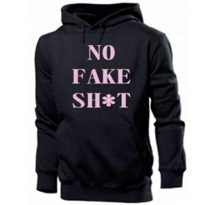Bluza z kapturem męska No fake shit