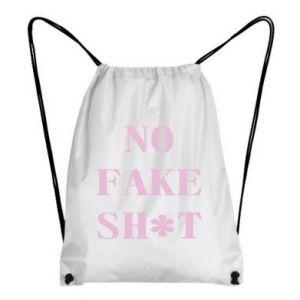 Plecak-worek No fake shit