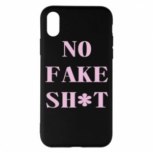 Etui na iPhone X/Xs No fake shit