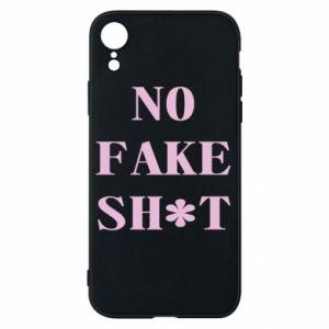 Etui na iPhone XR No fake shit