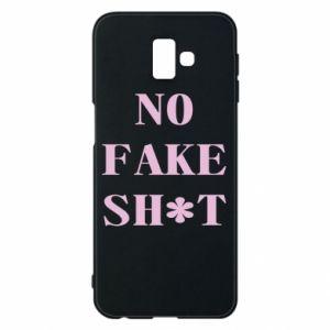 Etui na Samsung J6 Plus 2018 No fake shit