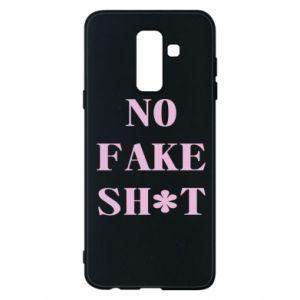 Etui na Samsung A6+ 2018 No fake shit