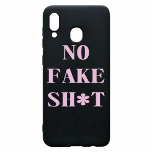 Etui na Samsung A20 No fake shit