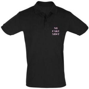 Koszulka Polo No fake shit