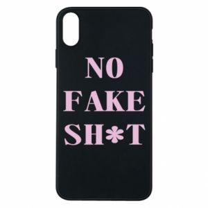 Etui na iPhone Xs Max No fake shit