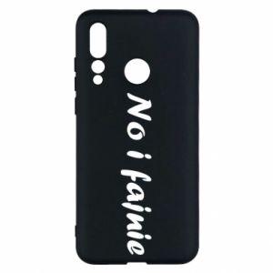 Etui na Huawei Nova 4 No i fajnie