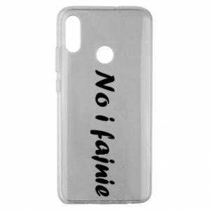 Etui na Huawei Honor 10 Lite No i fajnie