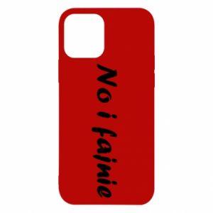 Etui na iPhone 12/12 Pro No i fajnie