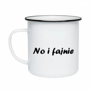 Enameled mug So cool - PrintSalon