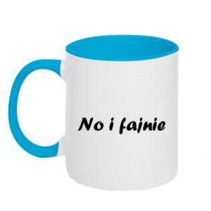 Two-toned mug So cool - PrintSalon
