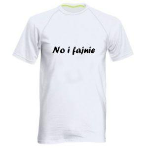 Men's sports t-shirt So cool - PrintSalon