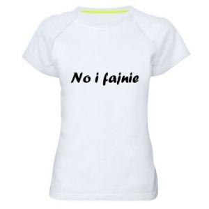 Women's sports t-shirt So cool - PrintSalon