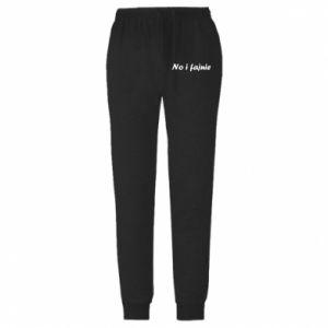 Męskie spodnie lekkie So cool - PrintSalon