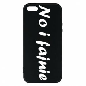 Phone case for iPhone 5/5S/SE So cool - PrintSalon