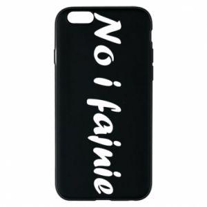 Etui na iPhone 6/6S No i fajnie