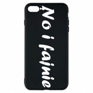 Etui do iPhone 7 Plus No i fajnie