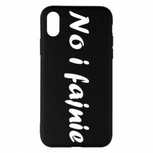 Phone case for iPhone X/Xs So cool - PrintSalon