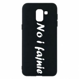 Phone case for Samsung J6 So cool - PrintSalon