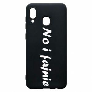 Phone case for Samsung A20 So cool - PrintSalon