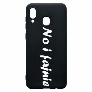 Phone case for Samsung A30 So cool - PrintSalon