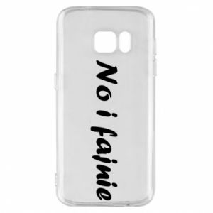 Phone case for Samsung S7 So cool - PrintSalon
