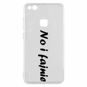 Phone case for Huawei P10 Lite So cool - PrintSalon