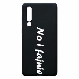 Phone case for Huawei P30 So cool - PrintSalon